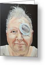 John's Eye Surgery Greeting Card