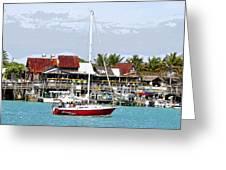 Johns Pass Florida Greeting Card
