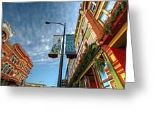 Johnson Street In Victoria B.c. Greeting Card