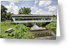Johnston Covered Bridge Greeting Card