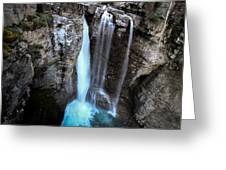 Johnston Creek Falls Greeting Card