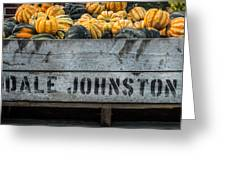 Johnston Fruit Farms Greeting Card