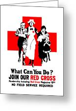 Join Our Red Cross Greeting Card