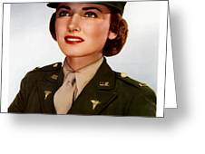 Join The Army Nurse Corps Greeting Card