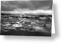Jokulsarlon Glacier Lagoon Iceland 2041 Greeting Card