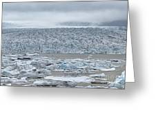 Jokulsarlon, Iceland Greeting Card