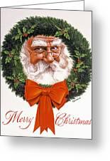 Jolly Old Saint Nick Greeting Card