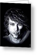 Jon Bon Jovi - It's My Life Greeting Card