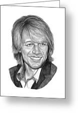 Jon Bon Jovi Greeting Card