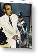 Jonas Salk (1914-1995) Greeting Card