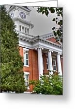 Jonesborough Courthouse Tennessee Greeting Card
