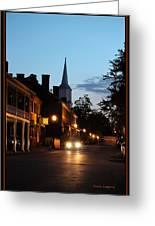 Jonesborough Tennessee 10 Greeting Card