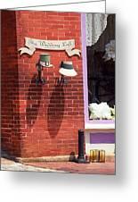Jonesborough Tennessee - Wedding Shop Greeting Card