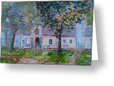 Jonkerhshuis At Groot Constantia Greeting Card