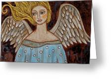 Jophiel Greeting Card by Rain Ririn