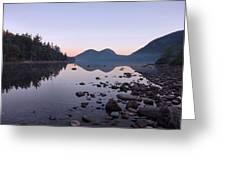 Jordan Pond Reflections - Acadia Greeting Card