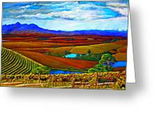 Jordan Vineyard Greeting Card