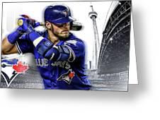 Josh Donaldson Blue Jays Greeting Card