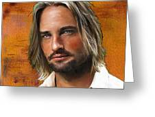 Josh Holloway Greeting Card
