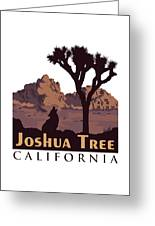 Joshua Tree. Greeting Card