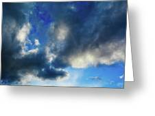 Joshua Tree Sky Greeting Card