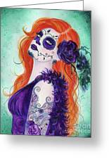 Joslyn Day Of The Dead Art Greeting Card