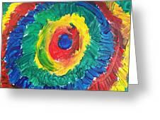 Joss's Eye Greeting Card
