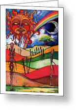 Journey Greeting Card by Anthony Burks Sr