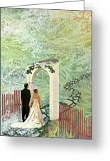 Journey Of Marriage Greeting Card by Arlissa Vaughn