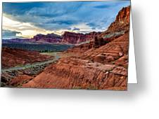 Journey Through Capitol Reef Greeting Card