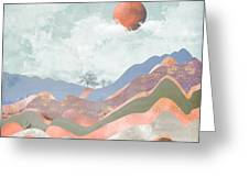 Journey To The Clouds Greeting Card