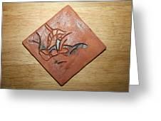 Journeys 9 - Tile Greeting Card