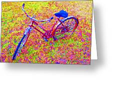 Joy, The Bike Ride Greeting Card