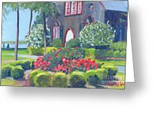Joy At The Church Of The Cross Greeting Card