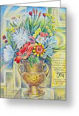 Joy Bouquet Greeting Card