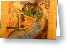 Joy Flowing - Tile Greeting Card