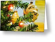 Joy Of Christmas Greeting Card