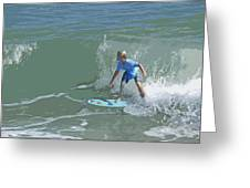 Joy Of Surfing - Four Greeting Card