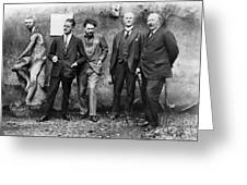 Joyce, Pound, Quinn & Ford Greeting Card