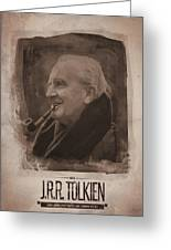 J.r.r. Tolkien Greeting Card
