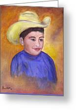 Juan, 16x20, Oil, '07 Greeting Card