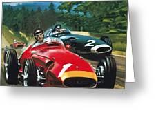 Juan Manuel Fangio Greeting Card