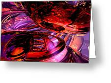 Jubilee Abstract Greeting Card