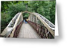 Jubilee Bridge - Matlock Bath Greeting Card