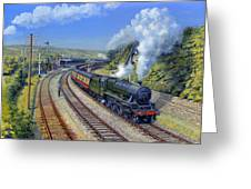 Jubilee Trafalgar At Mangotsfield Greeting Card