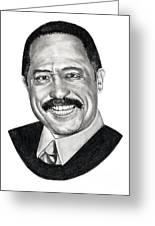 Judge Joe Brown Greeting Card