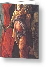 Judith Leaving The Tent Of Holofernes 1500 Greeting Card