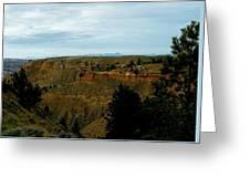 Judith River Cliffs Greeting Card
