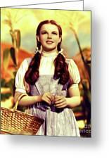 Judy Garland, Dorothy Greeting Card