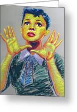 Judy Garland Greeting Card